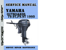 Thumbnail Yamaha Outboard T9.9T,F9.9T 1993 Service Repair Manual Pdf