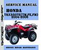 Thumbnail Honda TRX350TE(TM,FE,FM) 2004-2006 Service Repair Manual