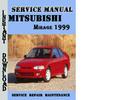 Thumbnail Mitsubishi Mirage 1999 Service Repair Manual Pdf Download
