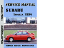 Thumbnail Subaru Impreza 1994 Service Repair Manual Pdf Download