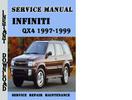 Thumbnail Infiniti QX4 1997-1999 Service Repair Manual Pdf Download