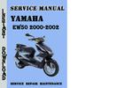 Thumbnail Yamaha EW50 2000-2002 Service Repair Manual Pdf Download