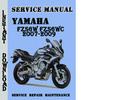 Thumbnail Yamaha FZS6W FZS6WC 2007-2009 Service Repair Manual