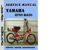 Thumbnail Yamaha QT50 MA50 Service Repair Manual Pdf Download