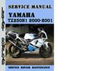 Thumbnail Yamaha TZ250N1 2000-2001 Service Repair Manual Pdf Download
