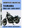 Thumbnail Yamaha VMX12N 1985-2007 Service Repair Manual Pdf Download