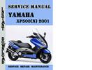Thumbnail Yamaha XP500(N) 2001 Service Repair Manual Pdf Download