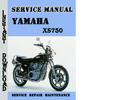 Thumbnail Yamaha XS750 Service Repair Manual Pdf Download