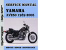 Thumbnail Yamaha XV250 1989-2005 Service Repair Manual Pdf Download