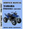 Thumbnail Yamaha YFM350EX Wolverine 1995-2004 Service Repair Manual