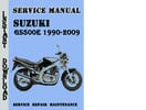 Thumbnail Suzuki GS500E 1990-2009 Service Repair Manual Pdf Download