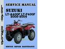 Thumbnail Suzuki LT-A400F LT-F400F 2008-2009 Service Repair Manual