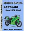 Thumbnail Kawasaki 250R Ninja 2008 Service Repair Manual Pdf Download