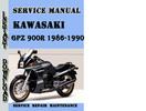 Thumbnail Kawasaki GPZ 900R 1986-1990 Service Repair Manual