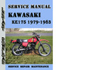 Thumbnail Kawasaki KE175 1979-1983 Service Repair Manual Pdf Download