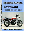 Thumbnail Kawasaki KZ500-550 ZX550 1979-1985 Service Repair Manual