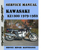 Thumbnail Kawasaki KZ1300 1979-1983 Service Repair Manual Pdf Download