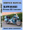 Thumbnail Kawasaki Voyager XII 1999-2003 Service Repair Manual