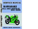 Thumbnail Kawasaki Ninja ZRX1200(R-S) 2001-2006 Service Repair Manual