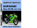 Thumbnail Kawasaki Ninja ZX-6R 1997-1999 Service Repair Manual