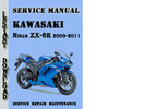 Thumbnail Kawasaki Ninja ZX-6R 2009-2011 Service Repair Manual