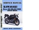 Thumbnail Kawasaki Ninja ZX-6R,ZX-6RR 2003-2004 Service Repair Manual