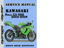 Thumbnail Kawasaki Ninja ZX-6RR 2003-2006 Service Repair Manual