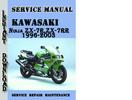Thumbnail Kawasaki Ninja ZX-7R,ZX-7RR 1996-2003 Service Repair Manual
