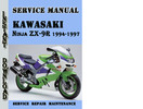 Thumbnail Kawasaki Ninja ZX-9R 1994-1997 Service Repair Manual