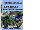 Thumbnail Kawasaki Ninja ZX-10R 1998-1990 Service Repair Manual
