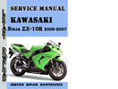 Thumbnail Kawasaki Ninja ZX-10R 2006-2007 Service Repair Manual