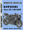 Thumbnail Kawasaki Ninja ZX-10R 2008 Service Repair Manual