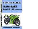 Thumbnail Kawasaki Ninja ZX-10R 2008-2010 Service Repair Manual