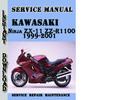 Thumbnail Kawasaki Ninja ZX-11 ZZ-R1100 1999-2001 Service Manual