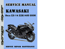 Thumbnail Kawasaki Ninja ZX-14 ZZR1400 2006 Service Repair Manual