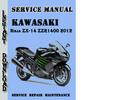 Thumbnail Kawasaki Ninja ZX-14 ZZR1400 2012 Service Repair Manual