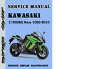 Thumbnail Kawasaki Z1000SX Ninja 1000 2010 Service Repair Manual