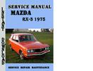 Thumbnail Mazda RX-3 1975 Service Repair Manual