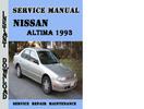 Thumbnail Nissan Altima 1993 Service Repair Manual