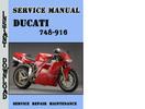 Thumbnail Ducati 748-916 Service Repair Manual