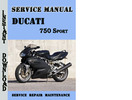Thumbnail Ducati 750 Sport Service Repair Manual
