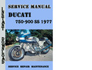 Thumbnail Ducati 750-900 SS 1977 Service Repair Manual