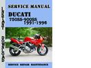 Thumbnail Ducati 750SS-900SS 1991-1996 Service Repair Manual