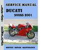 Thumbnail Ducati 900SS 2001 Service Repair Manual