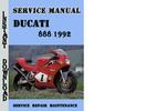Thumbnail Ducati 888 1992 Service Repair Manual