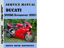 Thumbnail Ducati 900SS Supersport 2001 Service Repair Manual