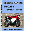Thumbnail Ducati 1098 S Tricolore Service Repair Manual