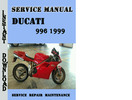 Thumbnail Ducati 996 1999 Service Repair Manual
