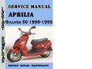 Thumbnail Aprilia Gulliver 50 1996-1999 Service Repair Manual