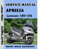 Thumbnail Aprilia Leonardo 120-154 Service Repair Manual